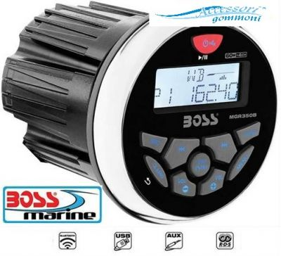 AUTORADIO BOSS MARINE MGR350B MP3 USB AUX