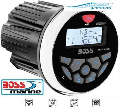 AUTORADIO BOSS MARINE MGR350B MP3 USB AUX