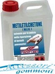 METILETILCHETONE PER PREPARAZIONE ALL'INCOLLAGGIO GOMMONI 1lt